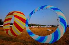 Drachen und Ballon Stockfotografie