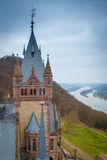Drachenburg Obrazy Royalty Free