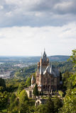 Drachenburg castle, Germany. The Drachenburg castle in North Rhine- Westphalia, Germany Royalty Free Stock Images