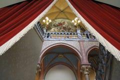 Drachenburg slott Arkivfoto