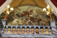 Drachenburg slott Royaltyfria Foton