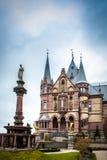 Drachenburg slott Royaltyfri Fotografi