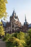 Drachenburgkasteel Dragon Castle dichtbij Koenigswinter - Bonn in Duitsland Noordrijn-Westfalen royalty-vrije stock fotografie