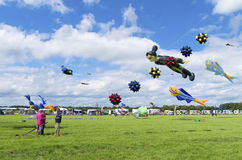 Drachenfestival Stockbild