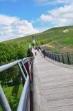 Drachenschwanzbrücke Stock Photo