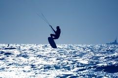 Drachensurfen Stockfoto