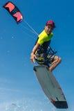 Drachensurfen Lizenzfreies Stockfoto