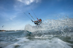 Drachensurfen Stockfotografie