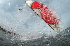Drachensurfen Lizenzfreies Stockbild