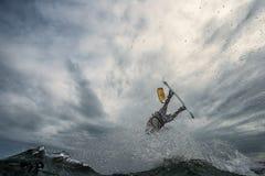 Drachensurfen Stockbilder