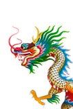 Drachestatue in der chinesischen Art Lizenzfreie Stockfotos
