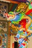 Drachestatue der chinesischen Art Lizenzfreie Stockfotos