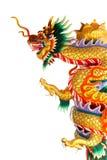 Drachestatue der chinesischen Art Lizenzfreies Stockfoto
