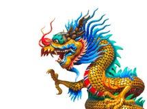 Drachestatue der chinesischen Art Lizenzfreies Stockbild