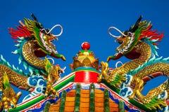 Drachestatue der chinesischen Art Lizenzfreie Stockfotografie