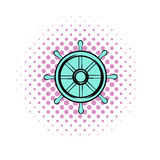 Drachma comics icon. On a white background Royalty Free Stock Images