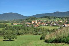 Drachselsried,Bavarian Forest,Germany Stock Photos
