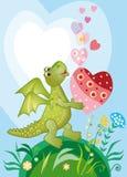 влюбленность draco Стоковые Фото
