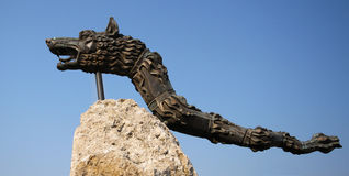 Draco de Dacian Imagen de archivo libre de regalías