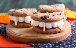 Dracula's Dentures dla Halloween zdjęcie royalty free
