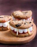 Dracula's Dentures for Halloween Stock Photography
