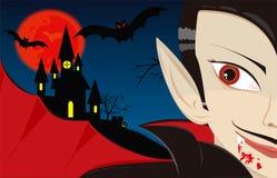 Dracula το βαμπίρ Στοκ Εικόνες