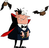 Dracula. On a white background, vector Stock Image