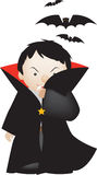 Dracula cartoon Stock Images