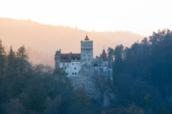Dracula Castle Στοκ εικόνες με δικαίωμα ελεύθερης χρήσης