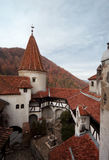 Dracula castle Bran Stock Photos