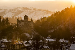Dracula castle. Bran heritage romania Stock Photography