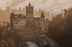 Dracula castle Royalty Free Stock Image