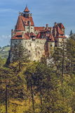 Dracula Castle, Bran, Romania. Bran Castle, also known as Dracula Castle on September 22, 2015 in Bran, Romania. Its fame is created around Bram Stoker's Stock Images