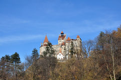 Dracula castle Royalty Free Stock Photography