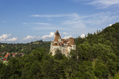 Dracula Castle in Bran Stock Images