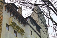 Dracula castle Royalty Free Stock Photo