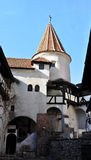 Dracula castle tower Royalty Free Stock Photos
