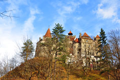 Dracula castle in transylvania Royalty Free Stock Images