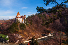 Dracula castle in Transylvania and Wallachia Royalty Free Stock Photography