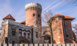 Dracula castle. ' Water Castle - Tower Impaler ' , which today takes his old age at General Candiano Popescu, number 6 , sector 4 of the capital , was built in Stock Photography