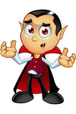 Dracula Character - Confused Royalty Free Stock Images