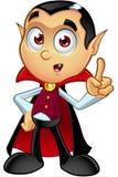 Dracula Character - Having An Idea Royalty Free Stock Image