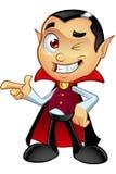 Dracula Character - Pointing Stock Photo