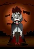 Dracula Dia das Bruxas Fotos de Stock