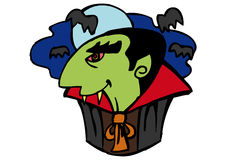 dracula Halloween fotografia royalty free