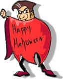 Dracula, Happy Halloween vector Royalty Free Stock Photography