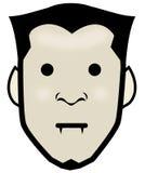 Dracula Head. An illustration of a dracula head Stock Images