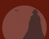 Dracula im Scheinwerfer Stockbilder