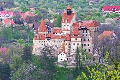 Dracula kasztel - otręby kasztel, Rumunia obraz stock