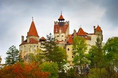 Dracula kasztel, Rumunia fotografia stock